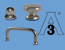 Q Stainless steel components 3-A Hygiene