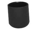 PE caps & ferrules for round tube - Ferrules for round tubes PE 14 mm black