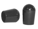 PVC caps & ferrules - small - for round tube