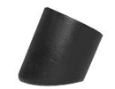 Caps & Ferrules with angled base for round tube - Angled ferrules for round tubes 16mm 15º black