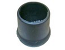 Caps & ferrules for round tubes with enlarged base - Ferrules for round tubes with enlarged base 38mm black