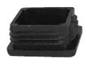 Square end cap inserts - Inserts for square tubes 110x110x3,0-5,0 black