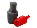 Flangeless Pull Plugs Silicone 4,0-6,0 L=25,4