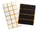 Square felt pads self-adhesive