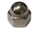 Hexagon domed cap nuts DIN1587 -  stainless steel - M4